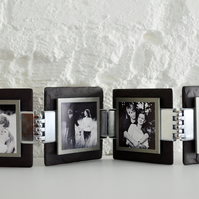 Welsh Slate Funky Photo Frame Kit - Pewter