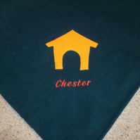Double sided Pet Blanket - Throw for Dogs or Cats or Car seat proctector