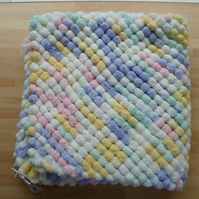 Baby Blanket for Pram, Buggy, Stroller, Moses Basket, Play Mat. Handmade