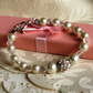 SOPHIA - Pearl and Faceted Beaded Wedding Bracelet