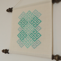 Modern cross stitch pattern - Celtic cross stitch pattern - Geometric pattern