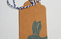 Handprinted Gift Tags