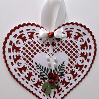 Quality Hand Made Valentine Gift Tag