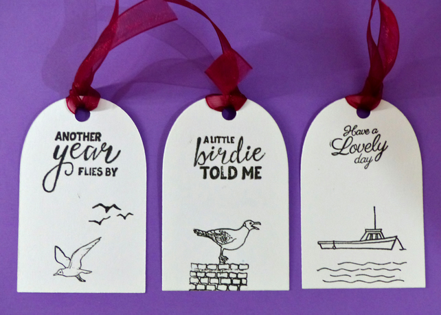 Handmade Greeting Gift Tags