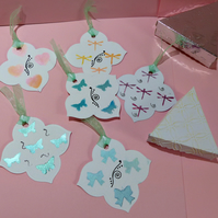 Quality Hand Made Stencilled Tags