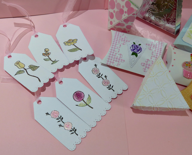 Quality Hand Made Floral Tags