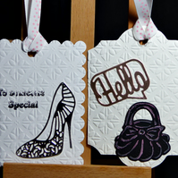 Set of 6 Shaped Gift Tags