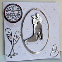 Luxury boxed Wedding Card