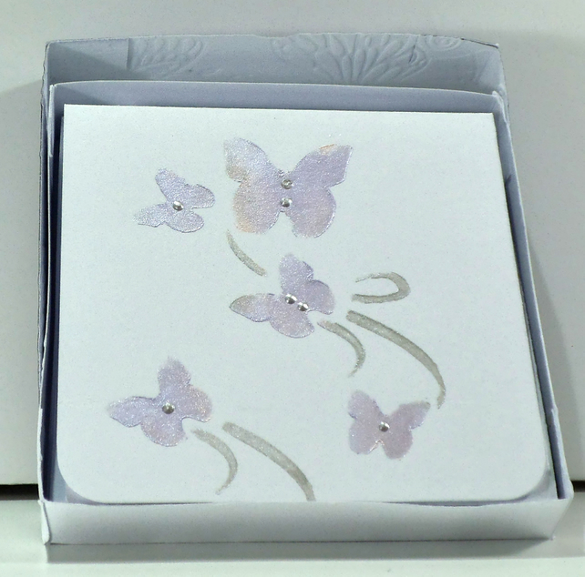 Boxed set of 6 blank Cards