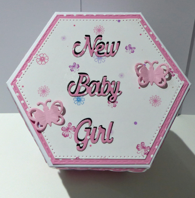 New Baby Girl  Gift Box
