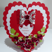 Boxed Valentines Card