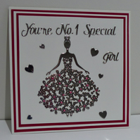 Quality Special Girl card