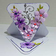 Triangle Easel Card