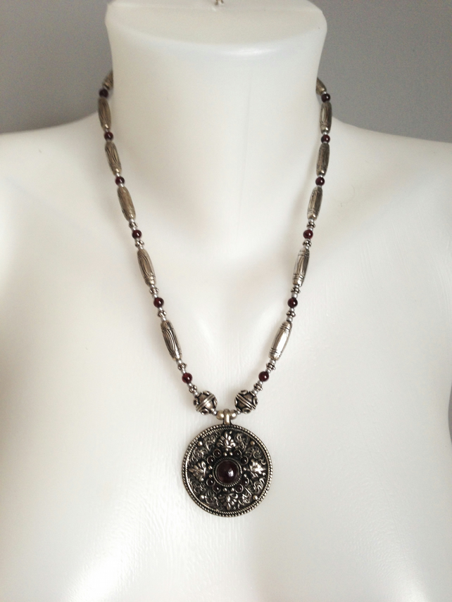 Silver Pendant Necklace