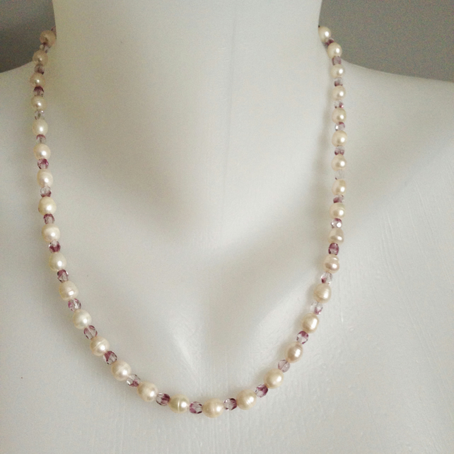Pearl necklace   Freshwater pearl Necklace