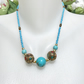 Turquoise Necklace,  Tibetan necklace, Ethnic necklace, Blue necklace