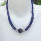 Amethyst necklace, Sapphire necklace