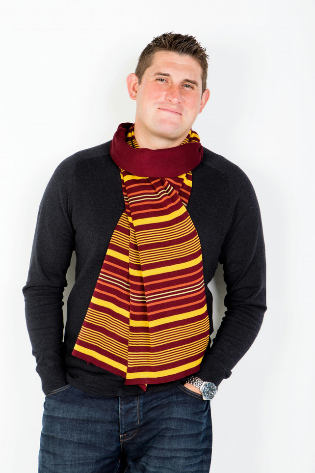 Men's Scarf,  Striped Scarf ,  283