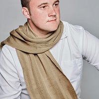 Men's Scarf, Greenstone Scarf, Scarf, Men's Accessories, Men's Fashion, 47