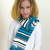 Smurfs, Smurfs Scarf,  Scarf, Neck Warmer, Autumn Scarf, Girls, 366