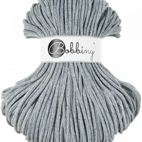 Bobbiny Rope Yarn - 5mm x 100m - Washed Denim