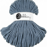 Bobbiny Rope Yarn - 5mm x 100m - Raw Denim