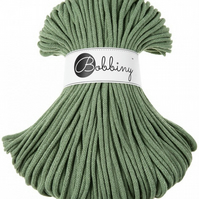 Bobbiny Rope Yarn - 5mm x 100m - Eucalyptus Green