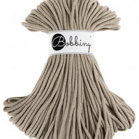 Bobbiny Rope Yarn - 5mm x 100m - Coffee