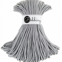 Bobbiny Rope Yarn - 5mm x 100m - Silver