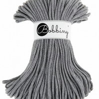 Bobbiny Rope Yarn - 5mm x 100m - Grey