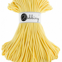 Bobbiny Rope Yarn - 5mm x 100m -  Lemon