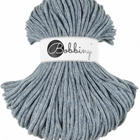 Bobbiny Rope Yarn - 5mm x 100m - Vintage Raw Denim