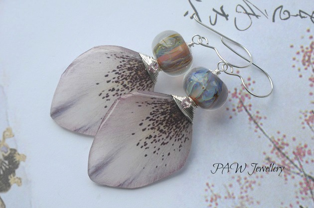 SALE Petal Earrings