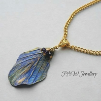 Mimosa Leaf Necklace