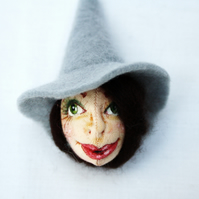 Art Brooch Dorothy the Witch