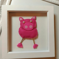 3D pig picture