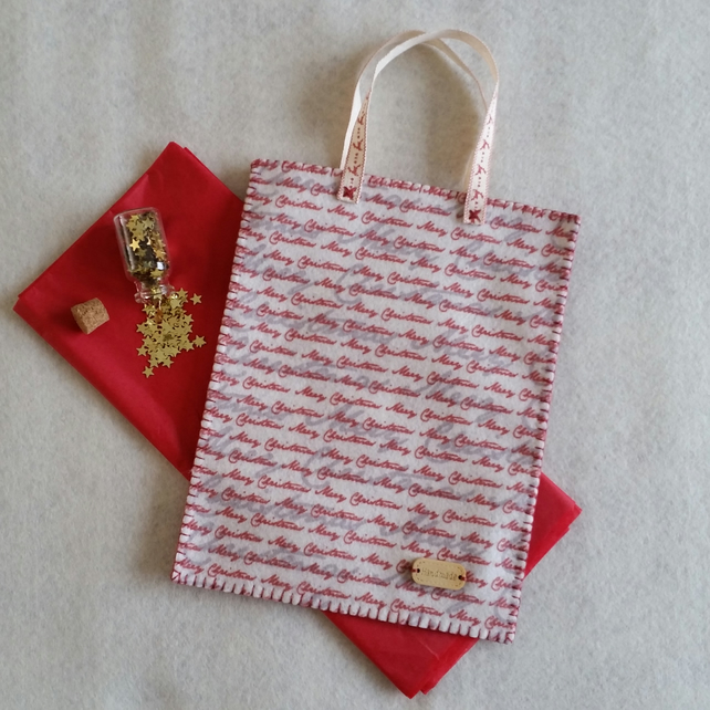 SALE  Christmas Gift Bag