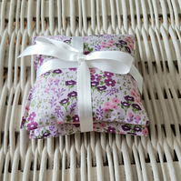 Pair of lavender pillows