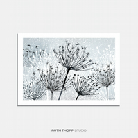 Seedheads Illustrated Art Print