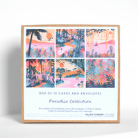 Paradise Collection - Box of 12 Greeting Cards
