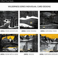 Individual Cards: Wilderness Series (Choose your design)