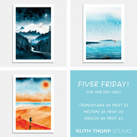 Fiver Friday Deal: Wild Winds A4 Prints