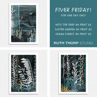 Fiver Friday Deal: Underwater Prints