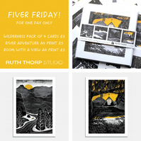 Fiver Friday Deal: Wilderness Prints and Cards