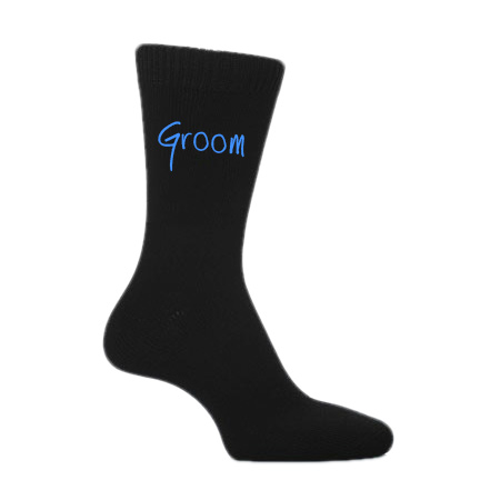 Funky Wedding Font Socks (Groom, Best Man, Usher, Father of The Bride, etc)