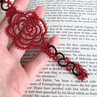 Goth Rose Bookmark