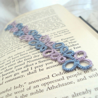 Blue, Lilac Bookmark
