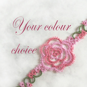 Custom Rose Bookmark