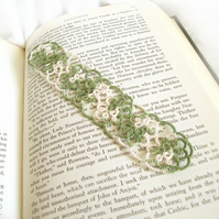Rustic Lace Bookmark