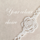 Custom Rose Bookmark - One Colour